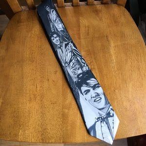 Ralph Marlin Elvis Presley black and white tie